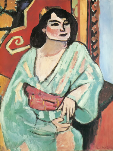 The Algerian Woman by Henri Matisse Print