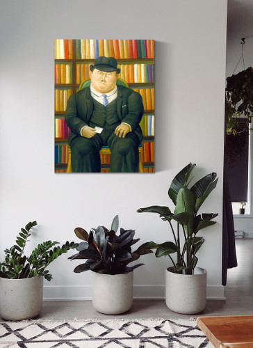 The Lawyer by Botero