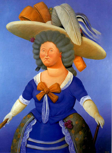 After Goya By Fernando Botero Art Reproduction from Wanford