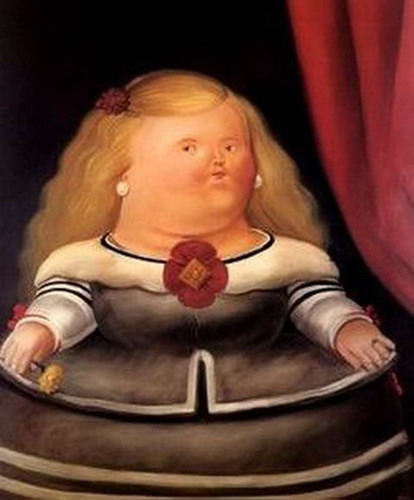 After Velasquez2 By Fernando Botero Art Reproduction from Wanford