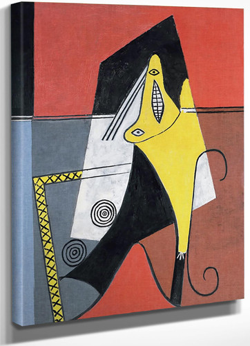 Woman In An Armchair by Picasso
