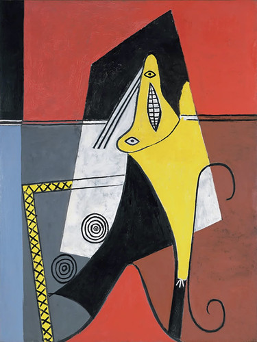 Woman In An Armchair by Picasso Print