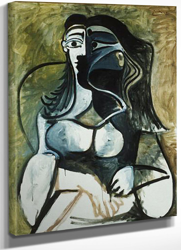Woman In Armchair by Picasso