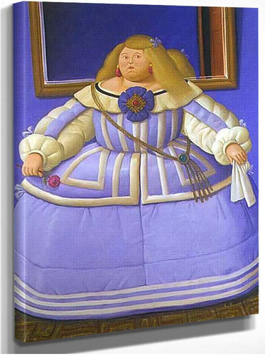 After Velasquez By Fernando Botero
