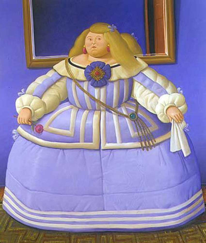 After Velasquez By Fernando Botero Art Reproduction from Wanford