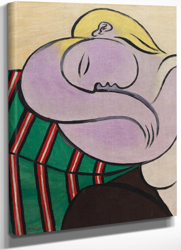Woman With Yellow Hair 1931 by Pablo Picasso