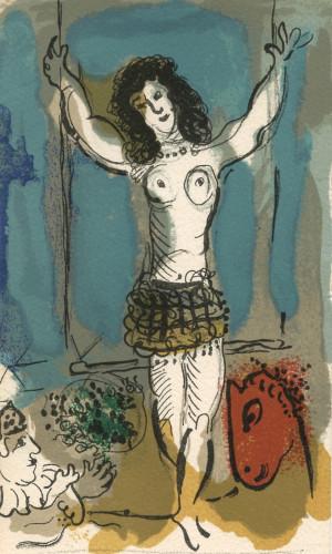 Berggruen by Marc Chagall Print
