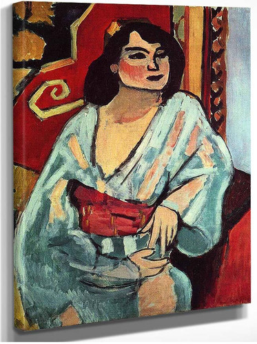 Algerian Woman 1909 By Henri Matisse