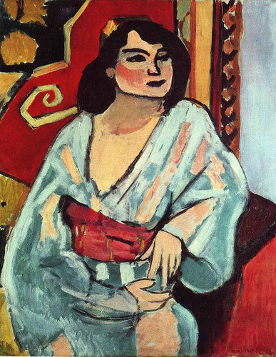 Algerian Woman 1909 By Henri Matisse Art Reproduction from Wanford