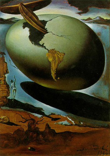 Allegory Of An American Christmas 1934 By Salvador Dali Art Reproduction from Wanford