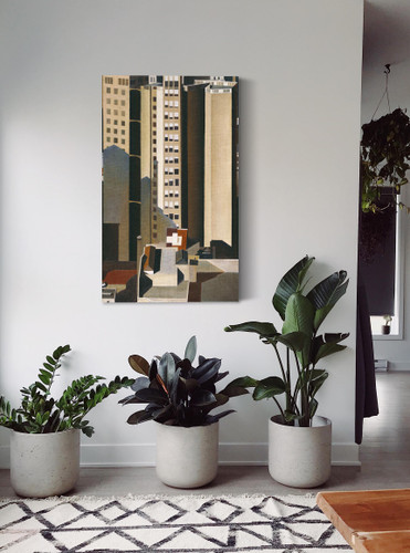 Skyscrapers by Charles Sheeler