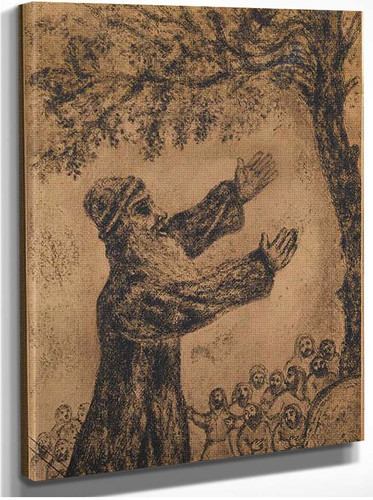 Already Been Old Joshua Brings Together The Israelites And Recalls Of The Favor Which The Lord By Marc Chagall