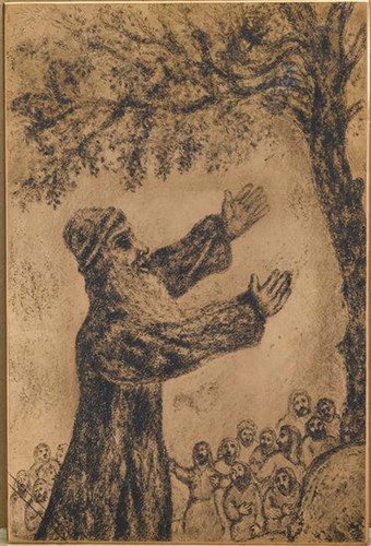 Already Been Old Joshua Brings Together The Israelites And Recalls Of The Favor Which The Lord By Marc Chagall Art Reproduction from Wanford