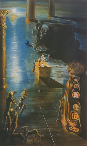 The Font by Salvador Dali Print