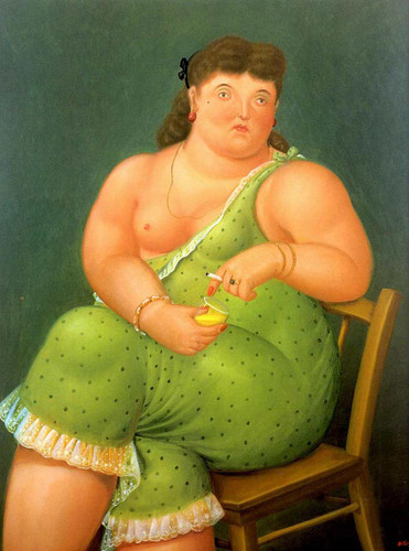 Amalia By Fernando Botero Art Reproduction from Wanford