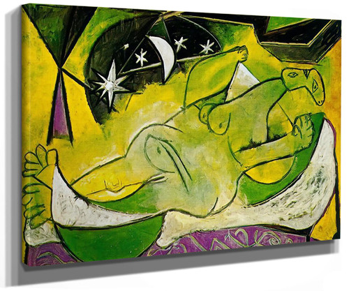 A Reclining Female Nude by Picasso