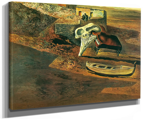 Atmospheric Skull Sodomizing A Grand Piano by Dali