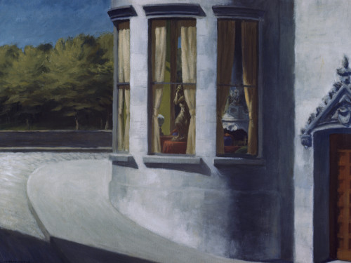 August In The City by Edward Hopper Print