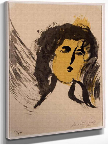 An Angel 1956 By Marc Chagall