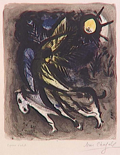 An Angel 1960 By Marc Chagall Art Reproduction from Wanford