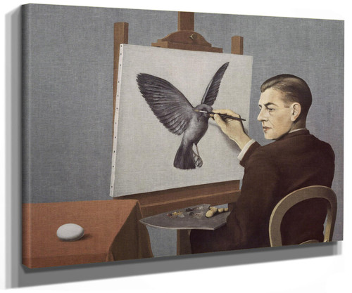 Clairvoyance by Rene Magritte
