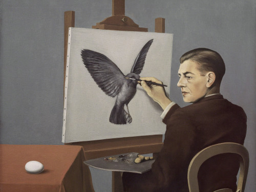 Clairvoyance by Rene Magritte Print