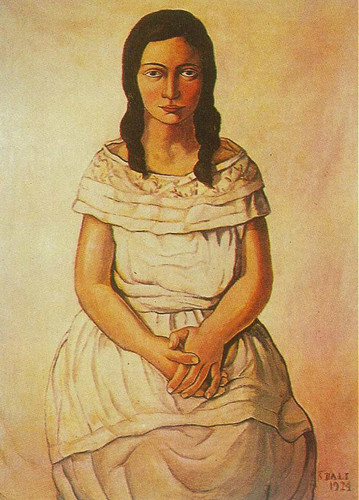 Ana Maria By Salvador Dali Art Reproduction from Wanford