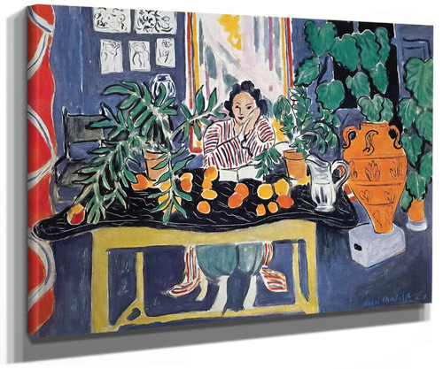 Interior With Etruscan Vase by Henri Matisse