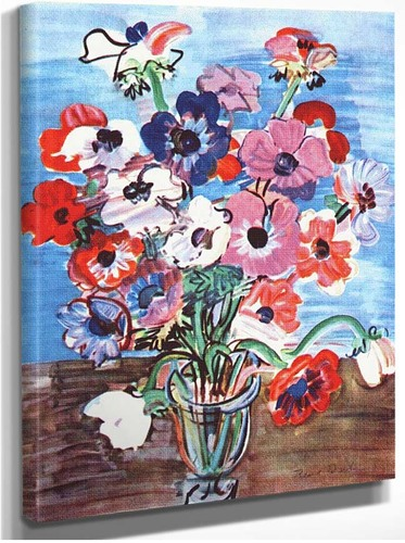 Anemones 1937 By Dufy Raoul