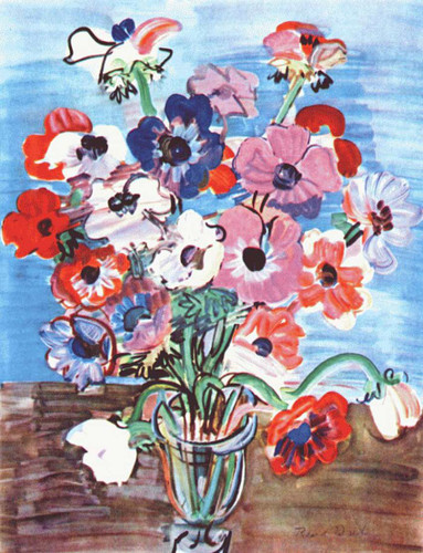 Anemones 1937 By Dufy Raoul Art Reproduction from Wanford