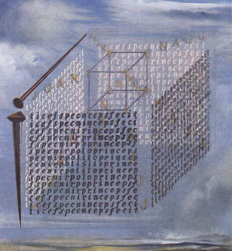 A Propos Of The Treatise On Cubic Form By Juan De Herrera By Salvador Dali Art Reproduction from Wanford.