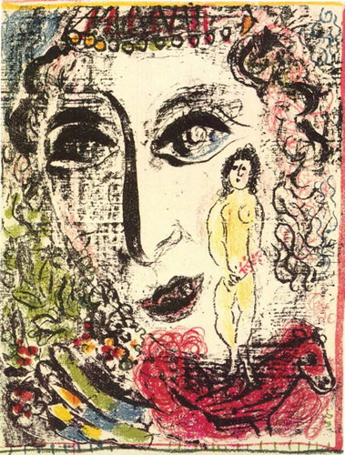 Apparition At The Circus 1963 By Marc Chagall Art Reproduction from Wanford