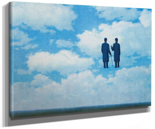 The Infinite Recognition 1963 by Rene Magritte