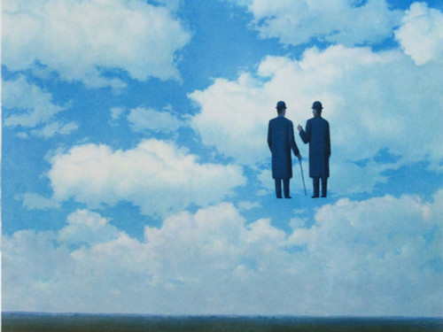 The Infinite Recognition 1963 by Rene Magritte Print