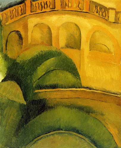 Arcades At L Estaque 1908 By Dufy Raoul Art Reproduction from Wanford