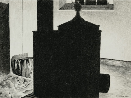 The Stove by Charles Sheeler Print