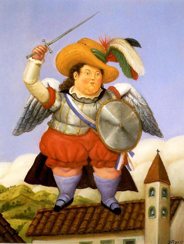 Archangel2 By Fernando Botero Art Reproduction from Wanford