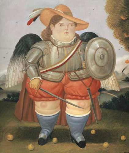 Archangel3 By Fernando Botero Art Reproduction from Wanford