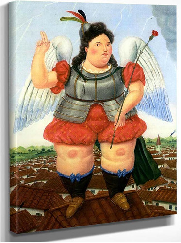 Archangel By Fernando Botero