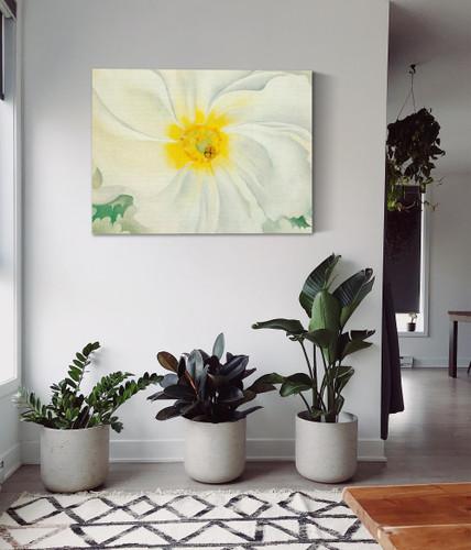 White Flower by Georgia O Keeffe