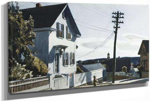 Adams House by Edward Hopper