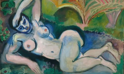 Blue Nude by Henri Matisse Print