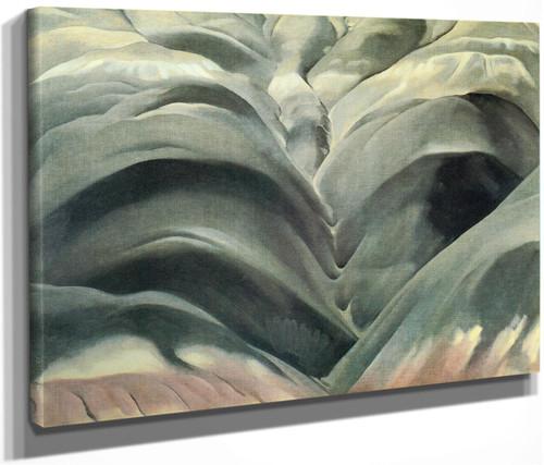 Black Place No 1 1944 by Georgia O Keeffe