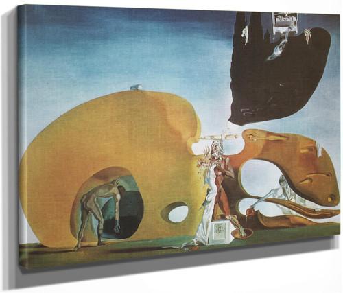 The Birth Of Liquid Desires by Salvador Dali