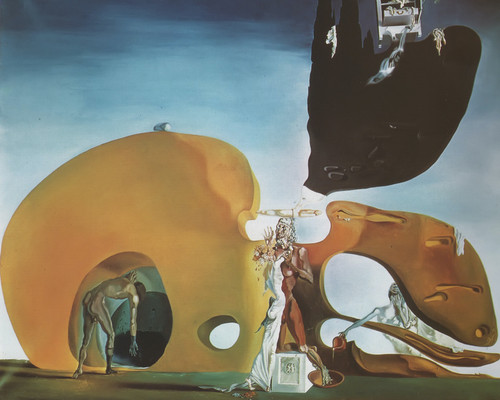 The Birth Of Liquid Desires by Salvador Dali Print
