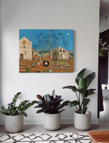 The Farm by Joan Miro