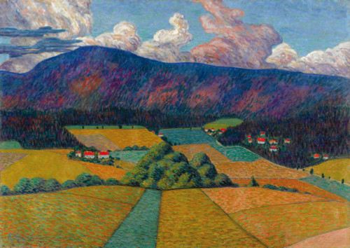 Norwegian Landscape 1909 By KONRAD MÄGI
