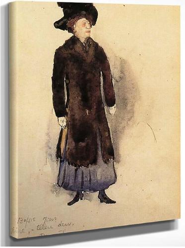 Aunt Ellen By Charles Demuth