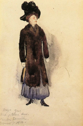 Aunt Ellen By Charles Demuth Art Reproduction from Wanford