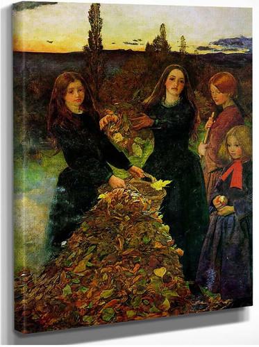 Autumn Leaves 1856 By John Everett Millais
